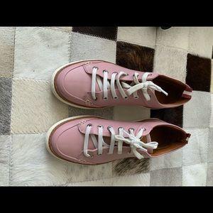 Bally dusty rose sneakers